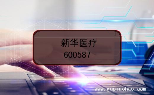 新华医疗的股票代码是什么?(证券代码600587)